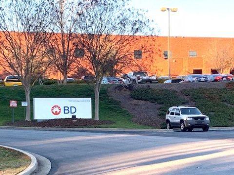 BD warehouse in Covington.
