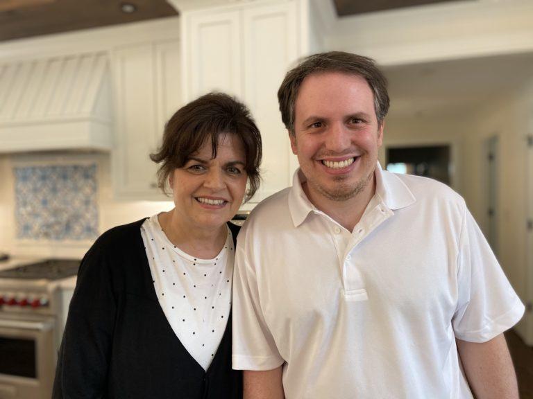 Michael Goodroe with his mother Joane Goodroe