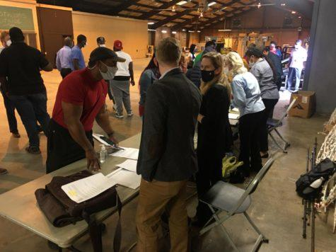 More then 200 people showed up to bid on 11 Macon-Bibb County properties up for auction in late March in the Land Bank Authority's tax sale.