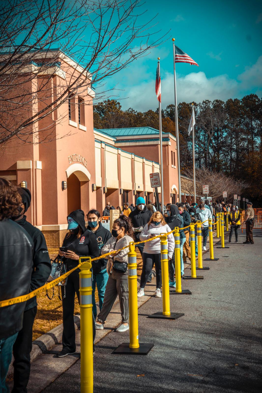 Long Voting Line