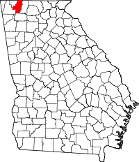 Whitfield County in Georgia