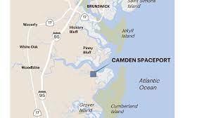 Map of Camden Spaceport
