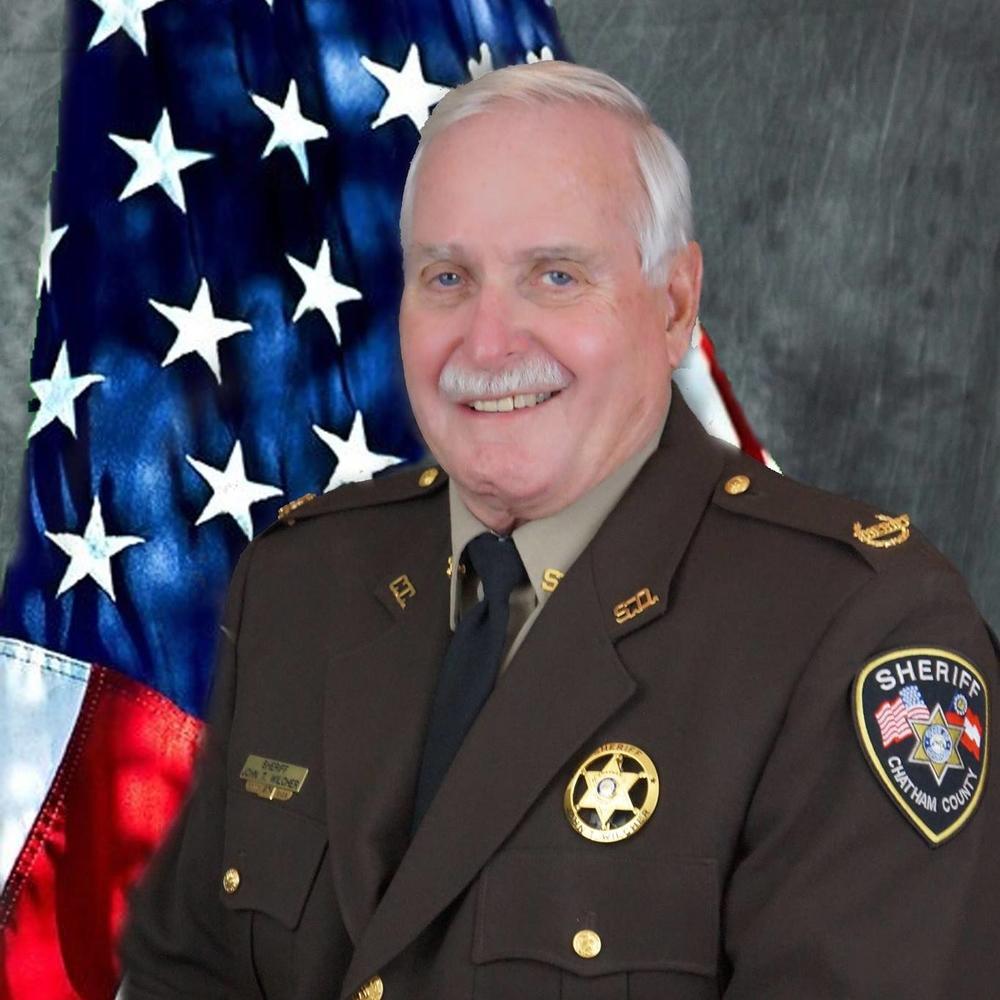Chatham County Sheriff John Wilcher