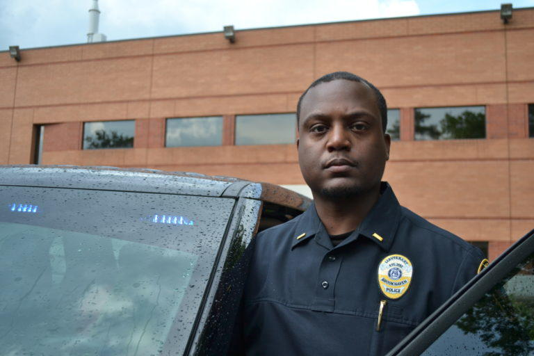 Lt. Abrem Ayana, 35, is the unit commander for Brookhaven's criminal investigations division and oversees crisis intervention training.