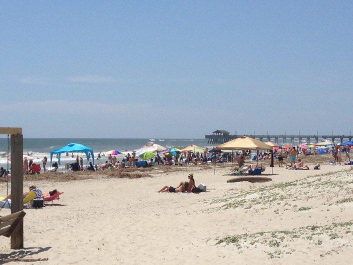 Tybee Island, a Tier One beach, welcomes thousands of tourists each year. Water is tested weekly there for safety.