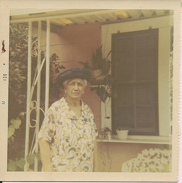 Beatrice Borders, who was a third-generation midwife, is pictured here in front of her Camilla maternity shelter in this undated photo. Photo courtesy of Jacquelyn Briscoe
