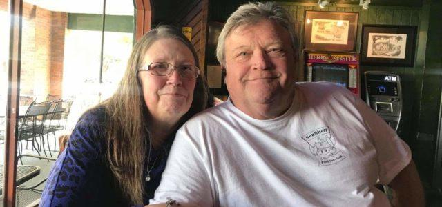 Tim Oswalt and his wife, Molly