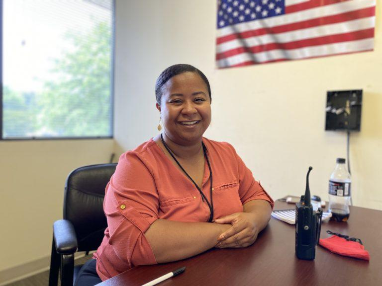 Victoria Williams is a licensed professional counselor and one of four mental health professionals assigned to the Brookhaven Police Department.