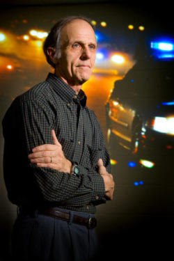 John Violanti, professor of epidemiology and environmental health at the University of Buffalo, and a leading expert on police stress.