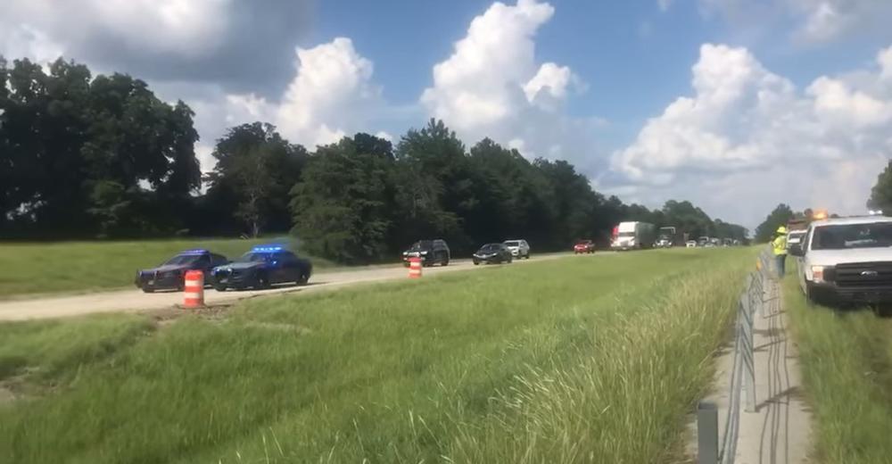 I-16 Reopens (Credit: Georgia Department of Transportation)