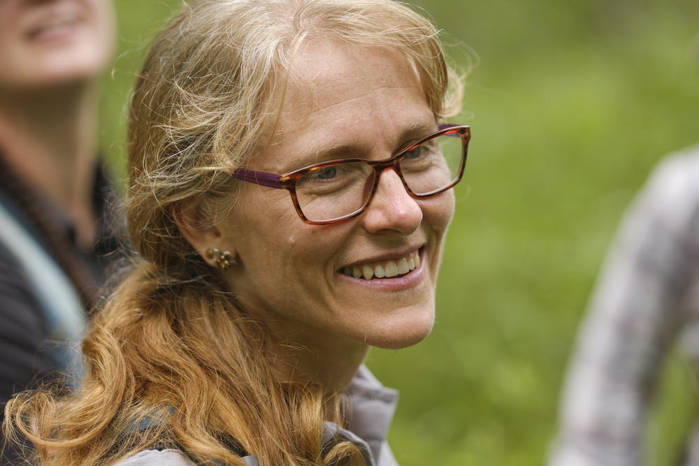 Georgia DNR senior botanist Lisa Kruse is leading the five year, federal grant supported expansion of the Georgia Plant Conservation Alliance, a group of 50 plus public and private rare plant conservators.