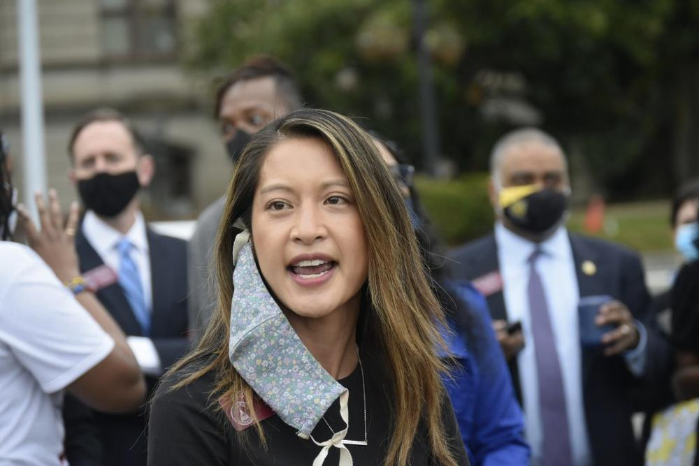 State Rep. Bee Nguyen said that in each of the three years she has been in Georgia's Legislature, she's seen Republicans try to pass bills that would make it harder to cast ballots.