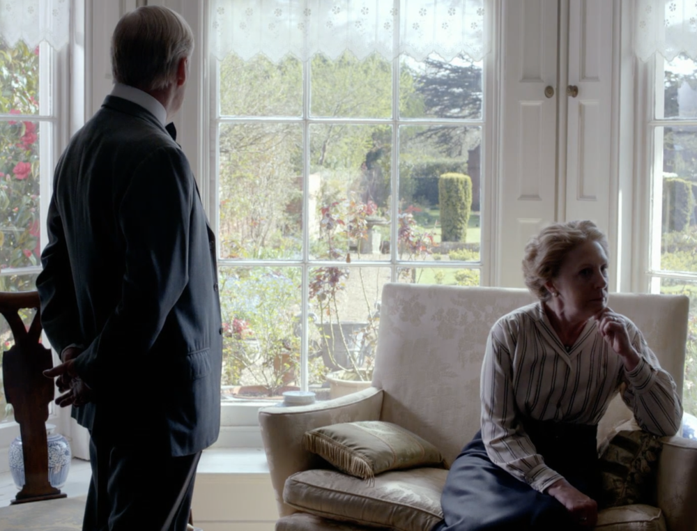The doctor and Isobel.