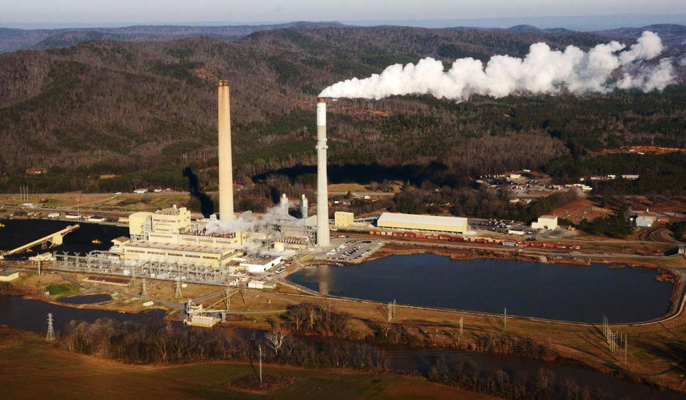 Georgia Power's Plant Hammond in an undated photo.