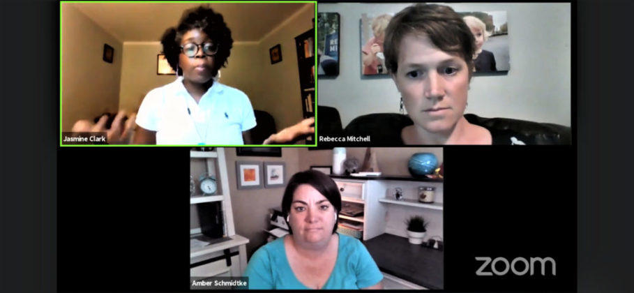Rep. Jasmine Clark, Rep. Rebecca Mitchell and Dr. Amber Schmidtke discuss the current state of the pandemic and advice for parents sending their children back to school.