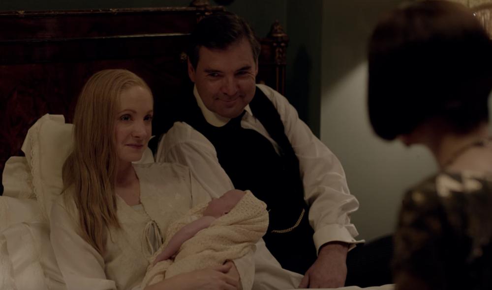 Anna, Bates and Mary