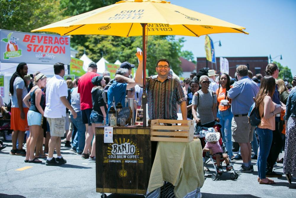 It's the second time for the Marietta event to be postponed — Taste of Marietta is usually held in the spring but was delayed until the fall this year because of the pandemic.