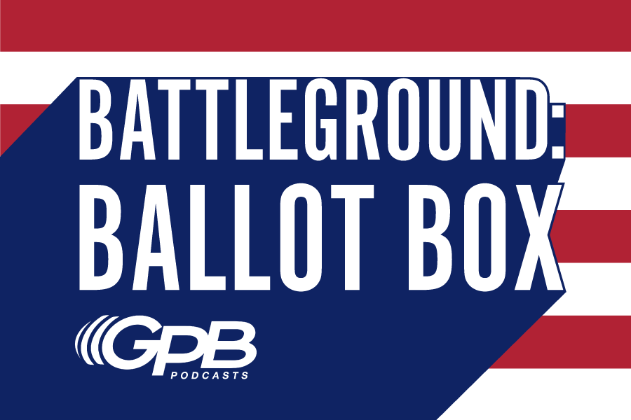 GPB podcast Battleground: Ballot Box logo
