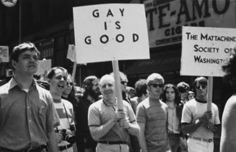 Frank Kameny and members of The Mattachine Society of Washington DC.