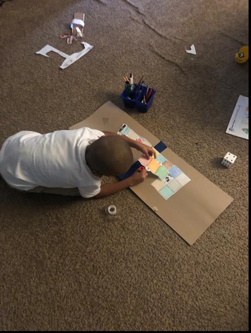 Math Board Activity