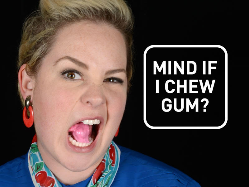 Does the sound of gum-chewing make you cringe? Find out why you may not be alone with Sound Uncovered. (Credit: Sound Uncovered)