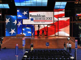Behind the scenes at the Republican Presidential Convention.