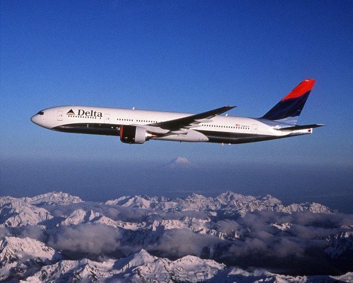 Delta, headquartered in Atlanta, employs nearly 80,000 worldwide.