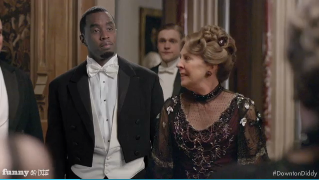 """Sean """"Diddy"""" Combs appears in Funny or Die spoof """"Downton Diddy""""."""