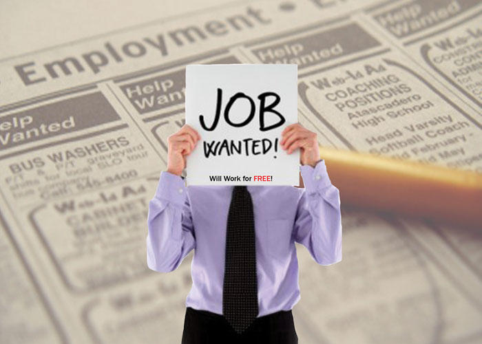 Job Searching Can Become Desperate for Some