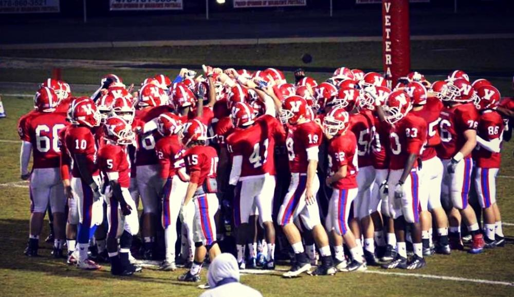 Veterans High clinched their very first region title with a win over Mary Persons on November 8th.