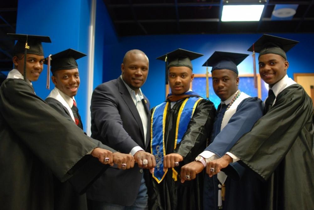 CJ Stewart and LEAD Program Graduates