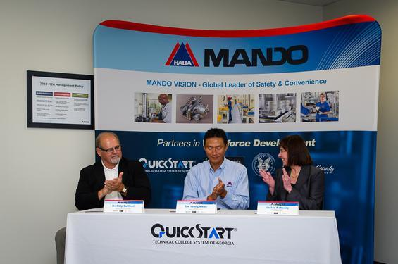 Mando America is a Korean Automotive Parts Manufacturer Located near LaGrange, GA