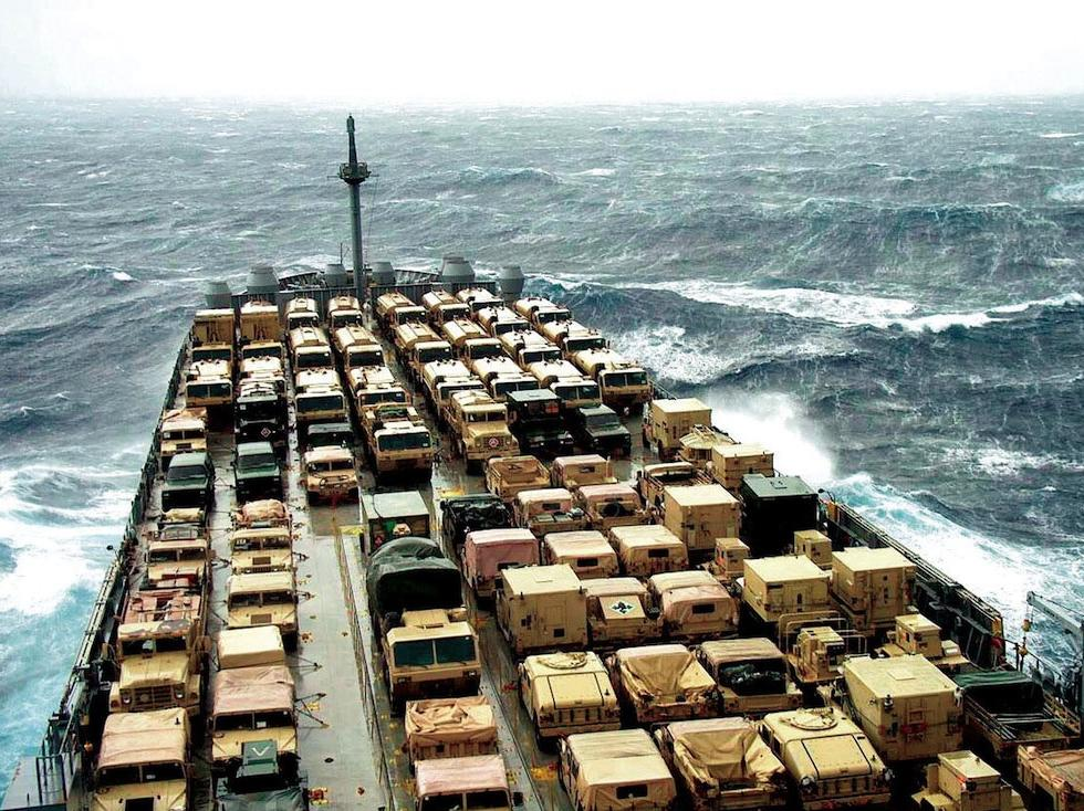 The Military Sealift Command Travels the Globe Supporting the U.S. Military