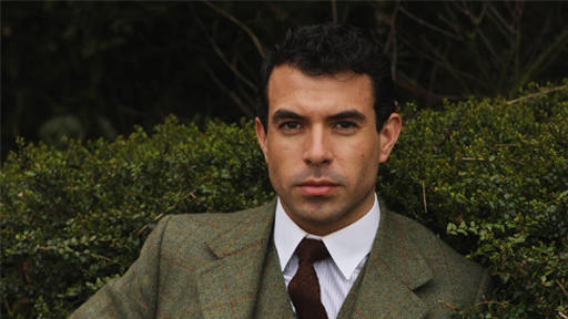 Tom Cullen is one of the new guys of Downton Abbey. He plays Lady Mary's suitor Lord Gillingham. (Image courtesy PBS.)