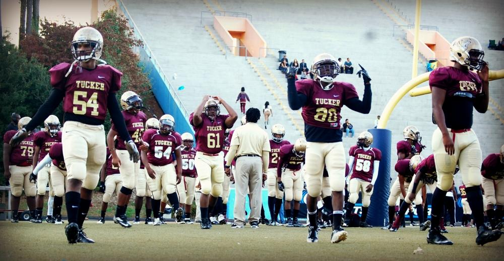 Tucker enters the GHSA playoffs with an undefeated record on the 2013 season.