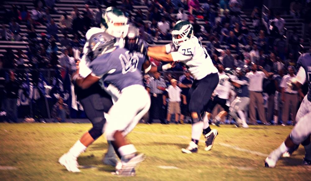 Norcross proved they're finally hitting their stride with a huge victory over Collins Hill Friday in Blue Devil Stadium.