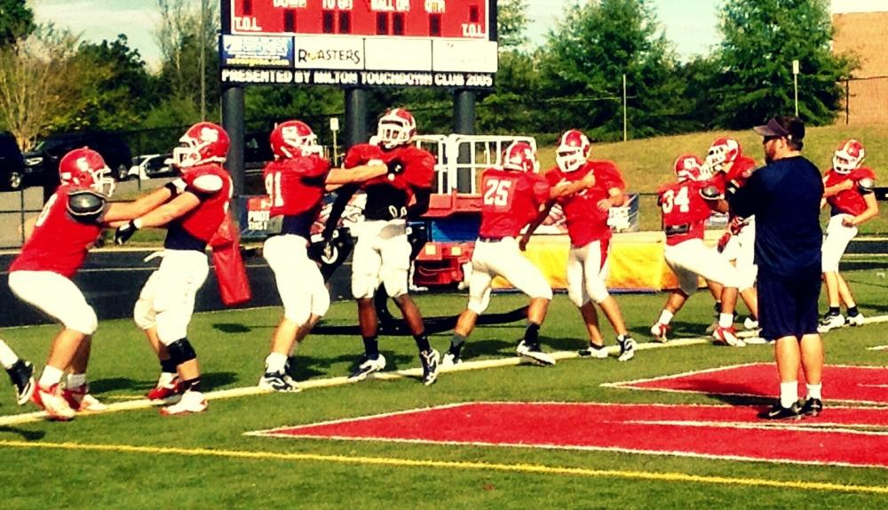 The Milton Eagles may find themselves in a 4-way tie for 1st place in Region 5 with a win over Woodstock this Friday.