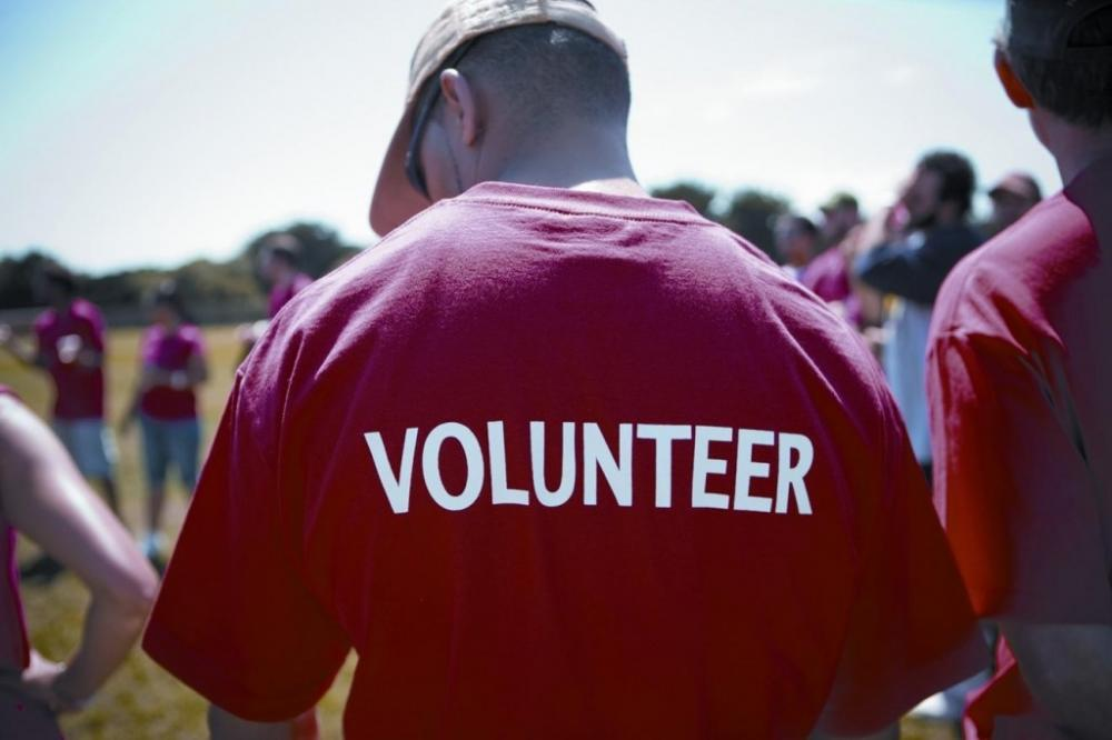 A new study shows that volunteerism is linked to better worker productivity