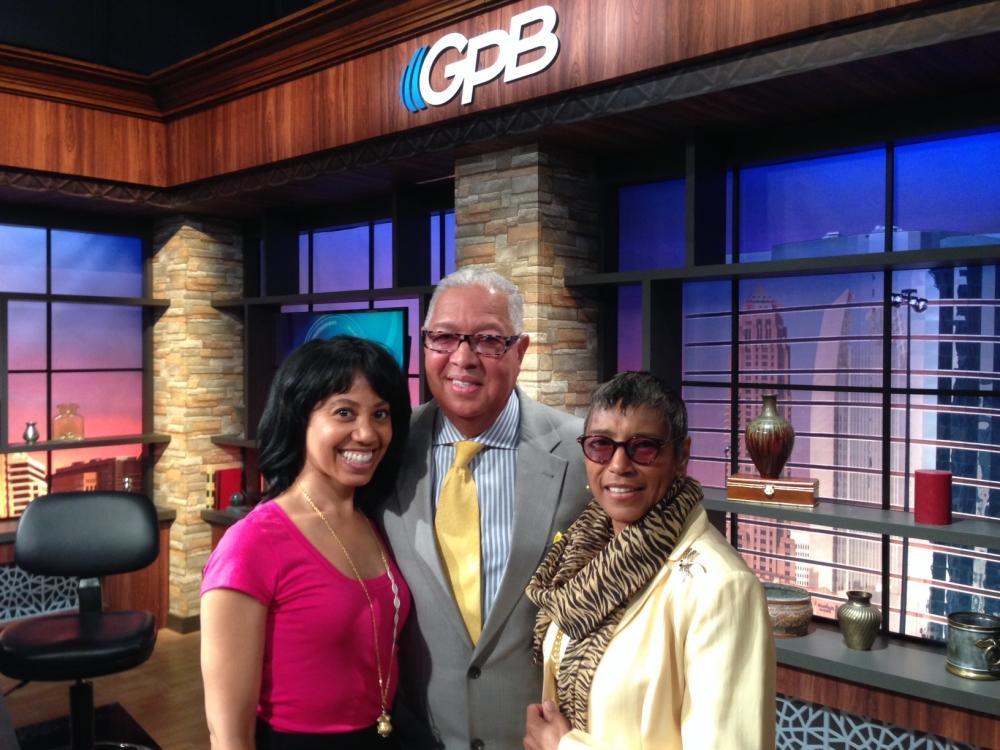 Bernard and Shirley Kinsey in the OTS GPB studio