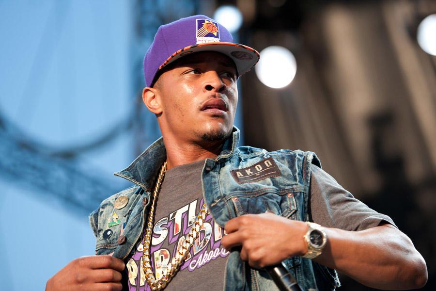 "Hip-hop artist Clifford Joseph ""T.I."" Harris Jr."