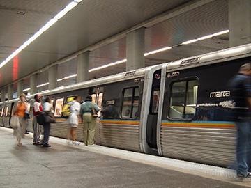 MARTA subway