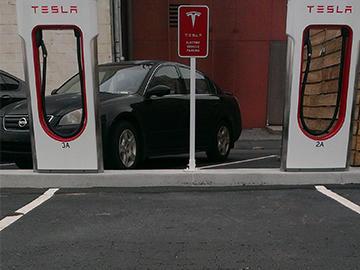Car charging ports
