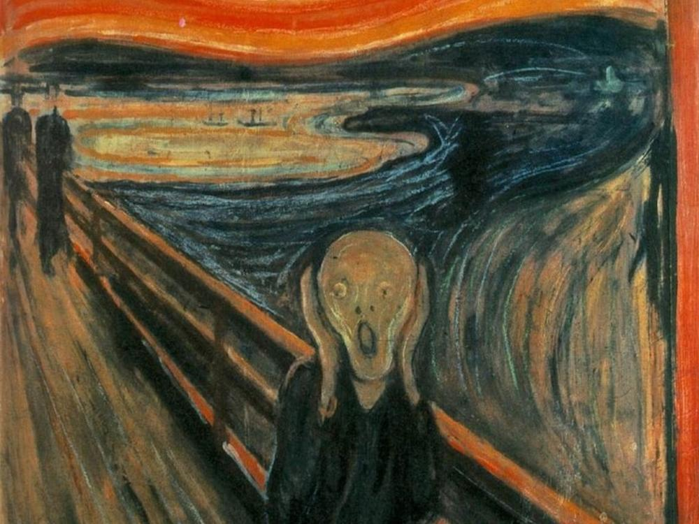 """The Scream"" by Edvard Munch"