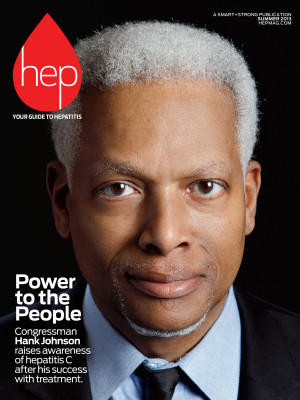 U.S. Rep Hank Johnson was featured on the 2013 cover of Hep magazine after speaking out about his own recovery and the stigma of viral hepatitis.