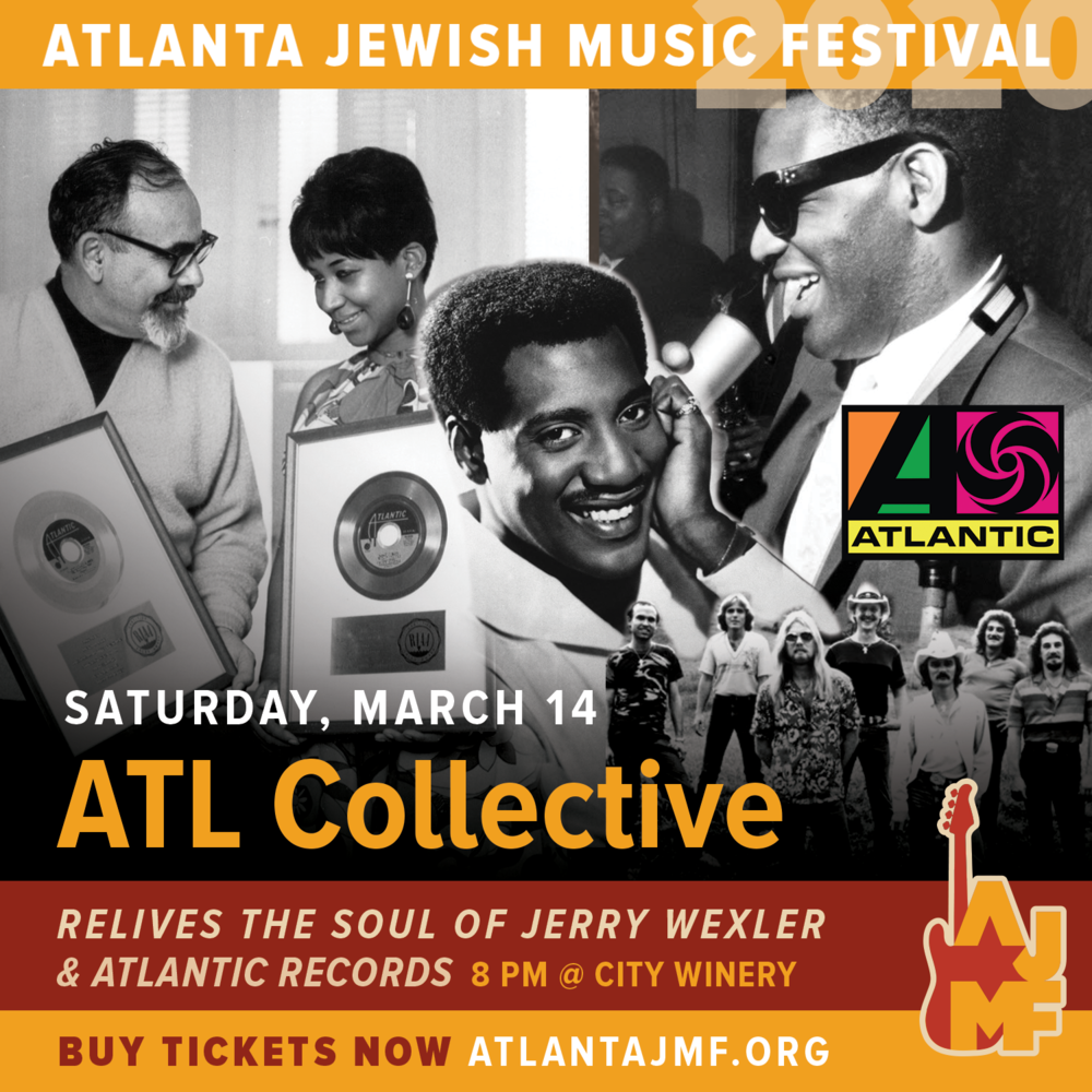 """The event, """"ATL Collective Relives the Soul of Jerry Wexler and Atlantic Records,"""" takes place Saturday, Mar. 14 at City Winery in Atlanta."""