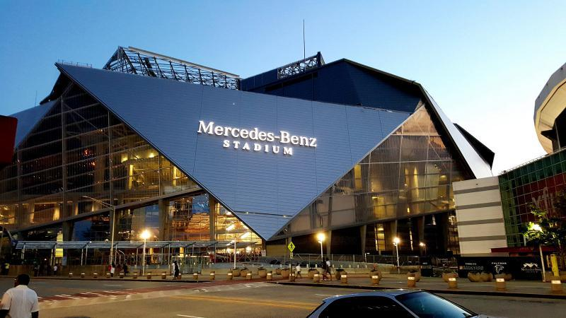 The Mercedes-Benz Stadium will host soccer team Atlanta United's 2020 season, which starts in late February..