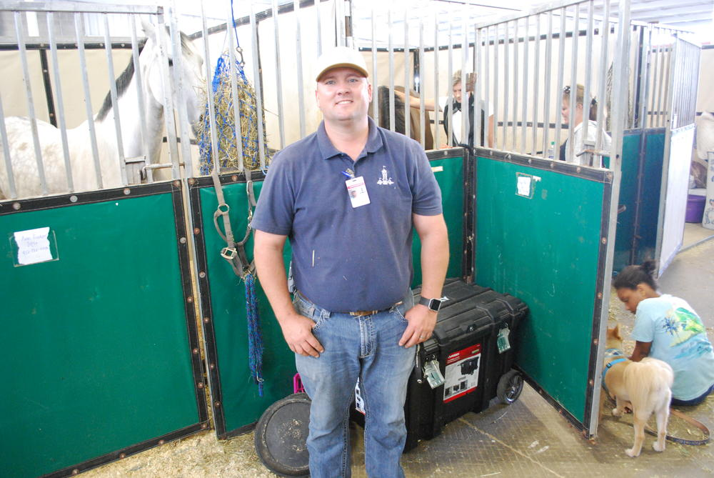 Philip Gentry is the Agriculture and Youth Director at the Georgia National Fairgrounds in Perry.