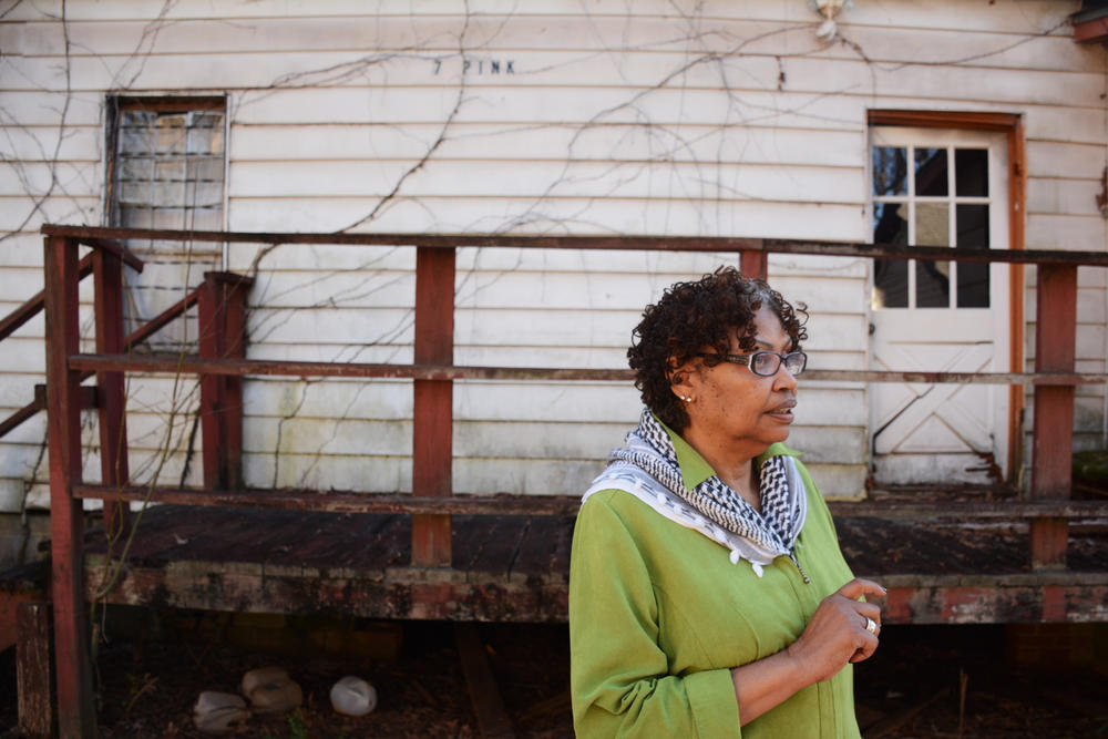 Terry Gray, Porterdale's first African-American city council member, doesn't want Rose Hill and its residents to disappear.
