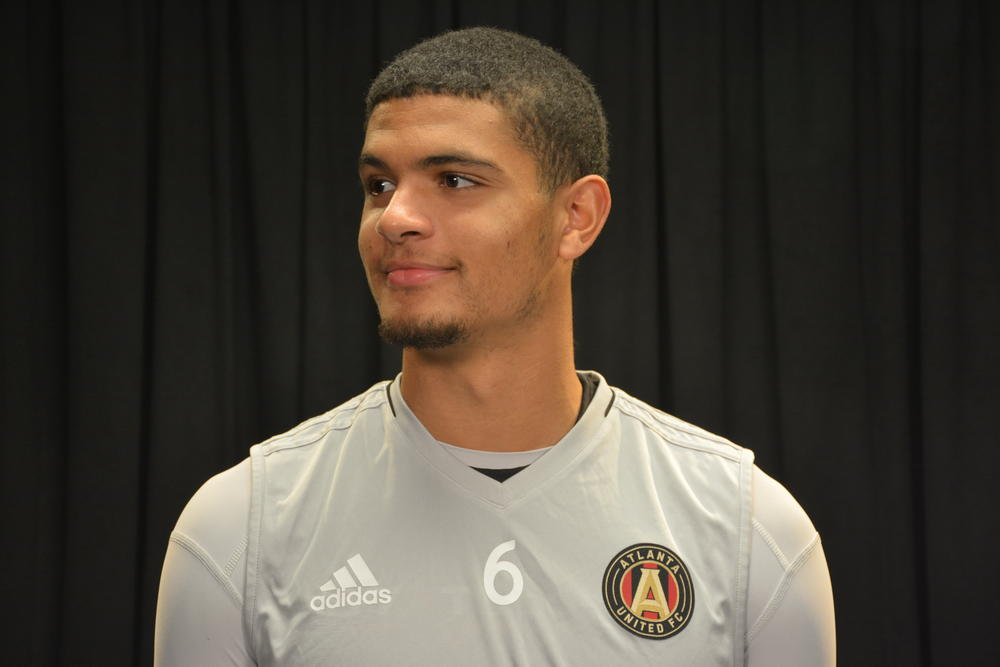 Miles Robinson, a 19-year-old defender on Atlanta United from Massachusetts.