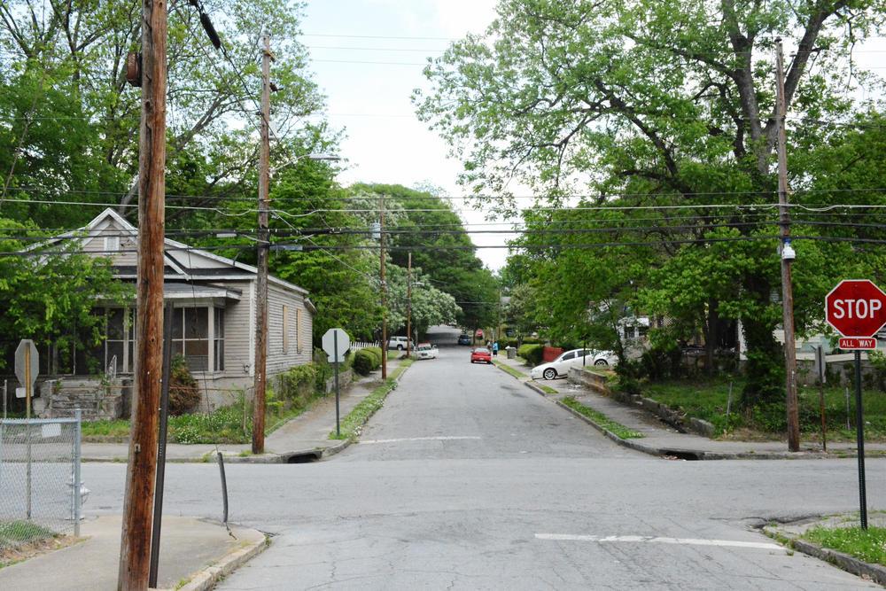 Jett Street in English Avenue.